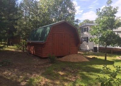 New shed with plenty of storage
