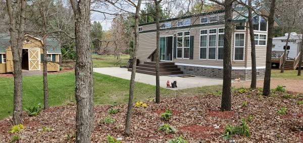 2017 Park Model & Camp Site 218 exterior side